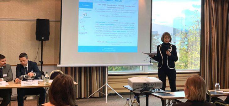 Zurich, OCTOBER 30th, 2018 – European Medtech Reimbursement Roundtable – RAPS (Regulatory Affairs Professionals Society)