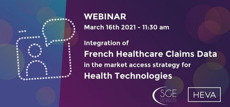 Integration of French Healtcare Claims Data in the Market Access Strategy for Health Technologies