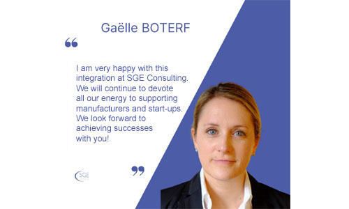 Gaëlle Boterf joins SGE Consulting as a Market Access & Corporate Strategy Director